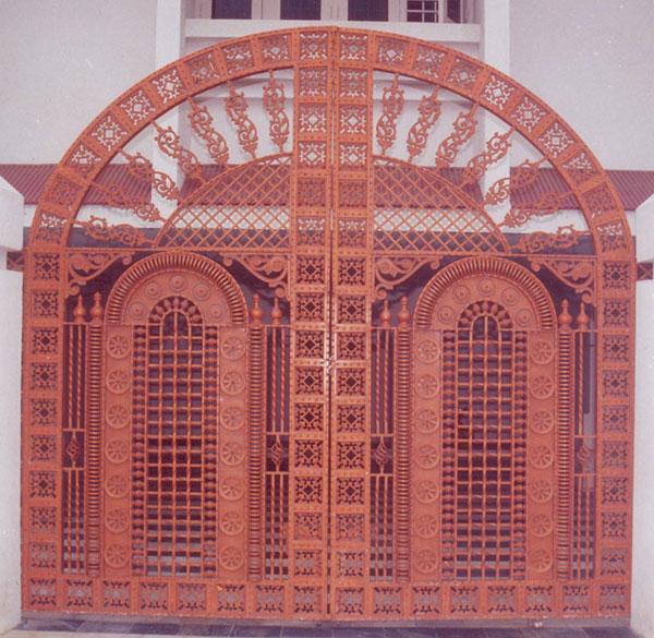 Royal Entry Gate Cast Iron Gates Decorative Gates Front
